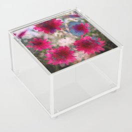 flowers abstract Acrylic Box