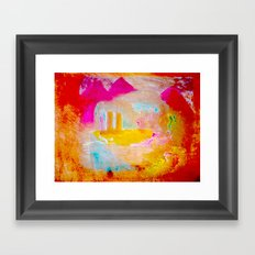 Iahad Framed Art Print