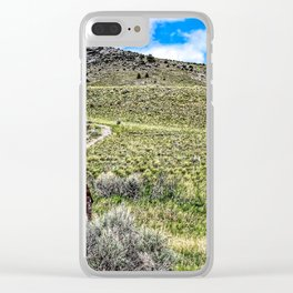 Lonely Country Clear iPhone Case