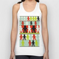 equality Tank Tops featuring Equality by Hilka Zimmerman