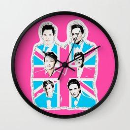 british men Wall Clock