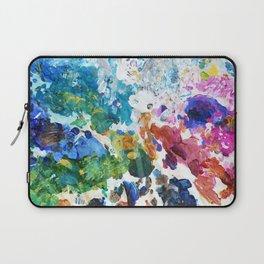 Artist's Palette Pattern Laptop Sleeve