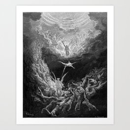Gustave Doré's The Last Judgement Art Print
