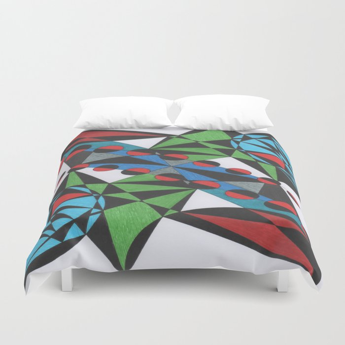 Flower Power 1 Duvet Cover