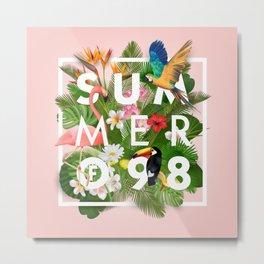 SUMMER of 98 Metal Print