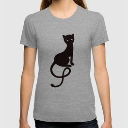 Gracious Evil Black Cat T-shirt