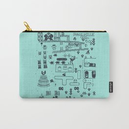 Retro Arcade Mash Up Carry-All Pouch