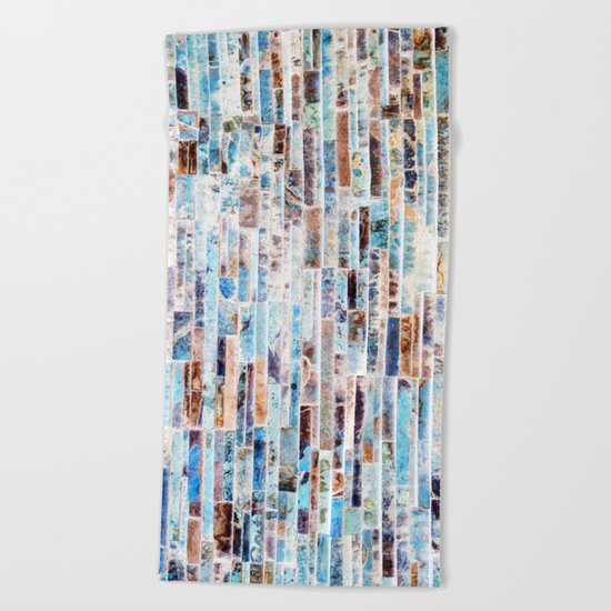 Minutiae #society6 Decor #buyart Beach Towel