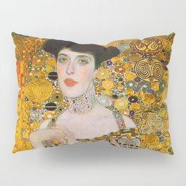 Adelle (Detail) Gustav Klimt Pillow Sham
