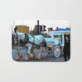 New Orleans Jazz Funeral Second Line Parade Bath Mat