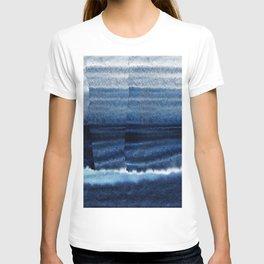 Blue Escape Watercolor T-shirt