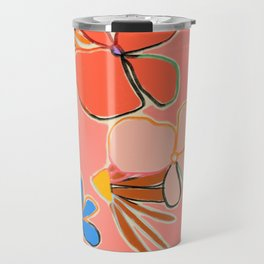 VINTAGE GARDEN PEACH Travel Mug