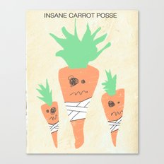 Insane Carrot Posse Canvas Print
