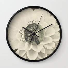 Belle ame Wall Clock