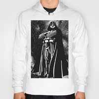 vader Hoodies featuring Vader by Saundra Myles