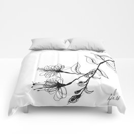 Blossom Branch  Comforters