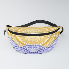 LIGHT OF DAWN (abstract tropical) Fanny Pack