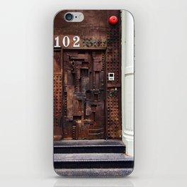 DOOR 102 iPhone Skin