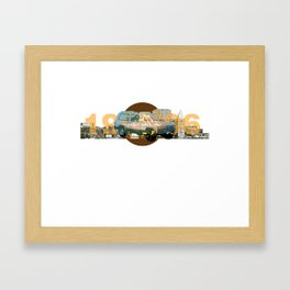 1996 Jeep Cherokee Framed Art Print