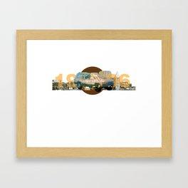 1996 Jeep Cherokee Framed Art Print