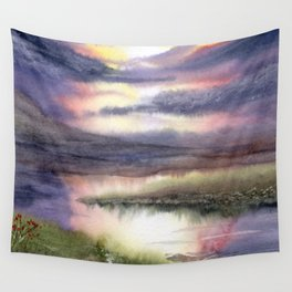 Intense Sky Wall Tapestry