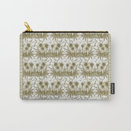 Singing Bird Collection - Sand Scarf design Carry-All Pouch