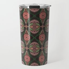 FLORAL FACES Travel Mug