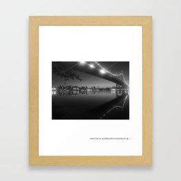PASSING REFLECTION Framed Art Print