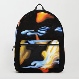 Koi Reflections CROP Top Backpack