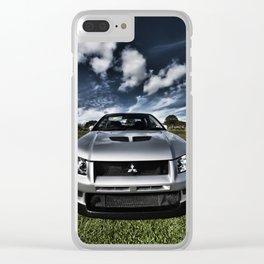 Mitsubishi Lancer Evolution 7 Clear iPhone Case