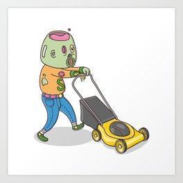 My Personal Zombie Art Print