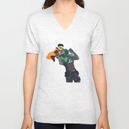 Who are you Unisex V-Neck