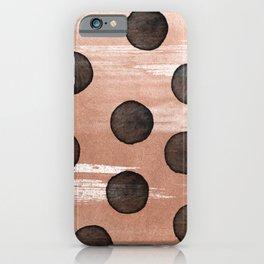 rose gold #2 iPhone Case