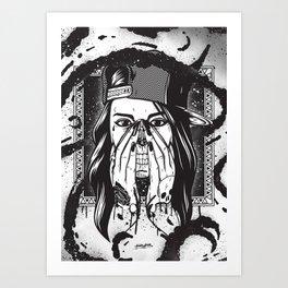 Pretty death ;) Art Print