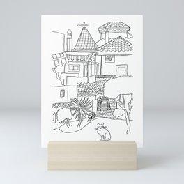 Garden Of Malaga Mini Art Print