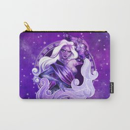 Amethyst Aquarius Carry-All Pouch