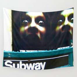 DON'T SLEEP IN THE SUBWAY! Wall Tapestry