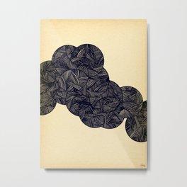 - molecules - Metal Print