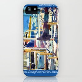 The Summer Line Up iPhone Case