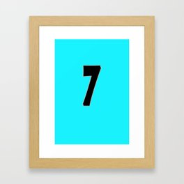 Beckham 7 Framed Art Print