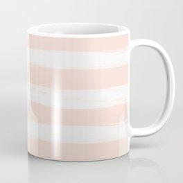Blush Gross Stripes No.3 Coffee Mug