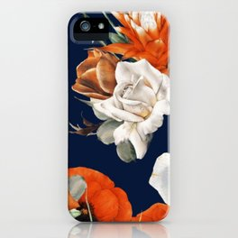 Citrus Floral Salad iPhone Case