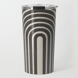 Rainbow Art, Geometric Mid Century, Travel Mug