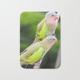 Princess Parrots Bath Mat