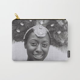 Black and White Photograph Toronto Canada Caribana Street Festival Carry-All Pouch