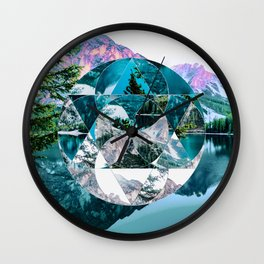 Misplaced Circle Wall Clock