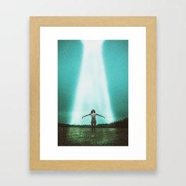 Alien Abduction Framed Art Print