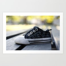 The Lonely Shoe Art Print