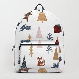 Winter Wonderland Pattern Backpack