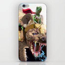 Pet Hyena iPhone Skin